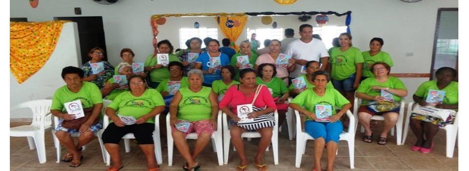 Idosos recebem orientação sobre o Zika vírus