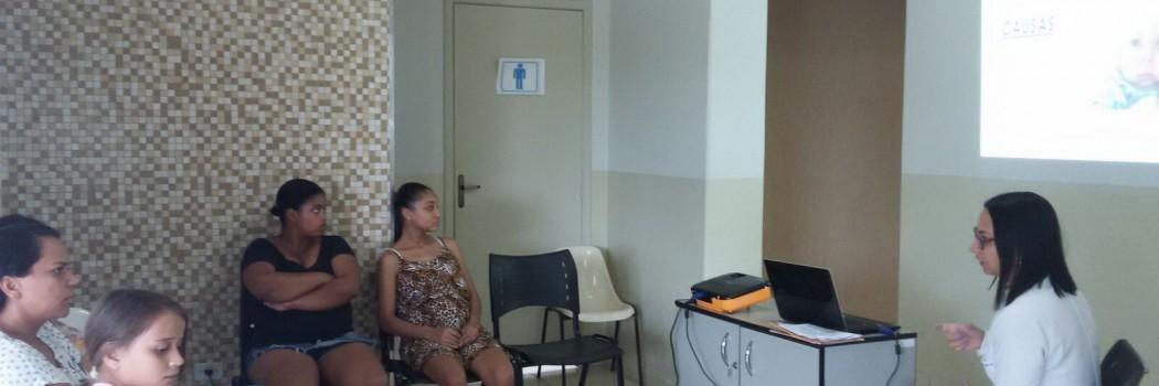 PSF discute microcefalia com usuários em Canápolis